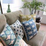 Coperchi di tela del cuscino del sofà della stampa 30X50cm del cotone per spazio della base