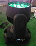 19X12W RGBW LEDのズームレンズの移動ヘッド洗浄ライト