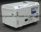 Type silencieux d'écran générateur diesel de 4.5kVA avec le moteur diesel refroidi par air