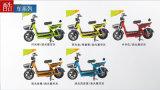 Bici elettrica del ciclomotore delle ragazze dell'ammortizzatore, ciclomotori elettrici e motorini 6 tubi