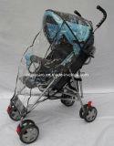 Leichter Baby-Regenschirm-Spaziergänger mit Regen-Mantel (CA-BB260B)