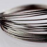Tensil élevé soulevant le câble métallique d'acier inoxydable