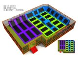 큰 실내 Trampoline 공원, 아이 또는 성인 Trampoline 적당 Trampoline Hotest 운동 Trampoline HD160310-X4