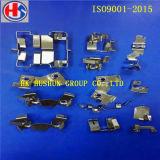 Estampant le shrapnel en métal, estampage mince nickelé en métal (HS-BC-0035)