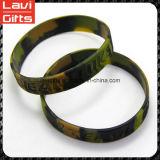 Form-kundenspezifisches Silikon-Gummi-Armband mit Förderung