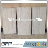 De Natuurlijke Tegels van uitstekende kwaliteit van het Zandsteen van de Steen Witte voor BinnenDecoratie