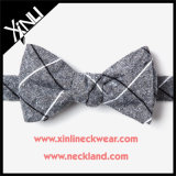 Cotton Man Plaid Self Bowtie