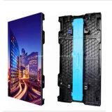 Parede video Rental P3.91 do diodo emissor de luz, diodo emissor de luz claro Shenzhen do arrendamento do gabinete P3.91 500X500mm P3.91 P4.81 da tela do diodo emissor de luz