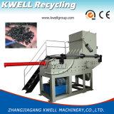Пластичный шредер PVC HDPE PPR трубы/машина одиночного вала Shredding