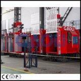 Grua/elevador do edifício da construção do bom desempenho Sc100/100