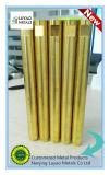 Guarniciones de cobre amarillo hechas trabajando a máquina del CNC