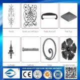 Eisen-Blumen-Form-Stahl mit Stangen-Köpfen