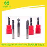 Carbide Ball Nose End Mill Tamanhos 8mm Milling Cutter