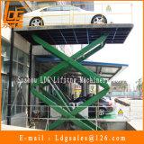 2 toneladas 5m hidráulicos Scissor o elevador do carro (SJG2-5)