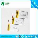 UL de goedgekeurde 3.7V Batterij van het Polymeer van het 250-1000mAh Navulbare Lithium voor Elektronisch Apparaat