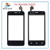 Передвижной экран касания LCD сотового телефона для частей цифрователя Bmobile Ax512 Ax524 Ax530 стеклянных
