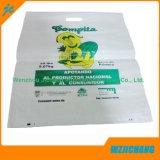 100% biodegradierbare Weiß-pp. gesponnene Plastiktaschen für Verkauf