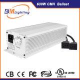 O reator hidropónico interno da iluminação da saída 630W CMH do dobro do sistema e cresce o refletor leve para o dispositivo elétrico de iluminação hidropónico