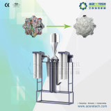 De plastic Machine van het Recycling voor het Flessenspoelen van het Huisdier van het Afval