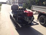 De speciale Vervoerder van het Kruippakje van het Spoor van het Octrooi Rubber met Dieselmotor