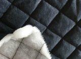 Ткань 100% зимы полиэфира выстеганная курткой