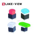 L'appareil de communication visuel sonore RVB colore l'interrupteur d'alimentation électrique de changement de DEL
