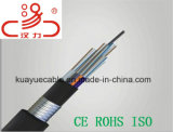 Разъем кабеля связи оптически кабеля разъема GYFTY оптического волокна