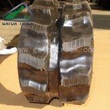 Trilha de borracha da trilha da máquina escavadora 180*72*39 para Kubota Kx21