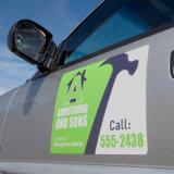 Signes polychromes personnalisés d'aimant de porte de véhicule de qualité de modèle