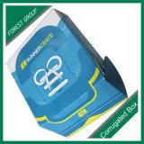 Kundenspezifischer Wimper-Kasten-kundenspezifischer Bambuskasten-kundenspezifischer Schuh-Kasten