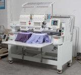 2 industrielle Haupthüte und Schutzkappen-Stickerei-Maschine