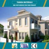 Chalet prefabricado prefabricado de lujo de la construcción de viviendas de Yuanda