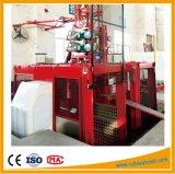 Подъем пассажира клетки Gjj Scd270/270g цены по прейскуранту завода-изготовителя двойной