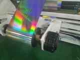 Hoja del laser que raja la máquina el rebobinar