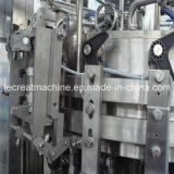 Beendete Bier-Dosen-Plomben-Hightechmaschinerie