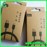 Papier d'accessoires de téléphone/caisse d'emballage en plastique avec le plateau de garniture intérieure