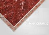 Vermelho vitrificado lustrado da telha de assoalho da porcelana do corpo do material de construção da telha de Foshan luz cheia (BMG15P)