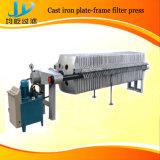 Platten-und Rahmen-Filterpresse für die Klärschlamm-Entwässerung