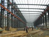 Almacén grande del marco de la construcción de la estructura de acero de la luz del palmo ancho