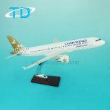 A320 1: 100 Escala de resina modelo de avión