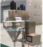 El llenador semi automático del taladro del polvo de la fábrica de la medicina pesa la empaquetadora de relleno