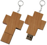 4GB-64GB USB 선전용 선물 나무로 되는 플래시 메모리