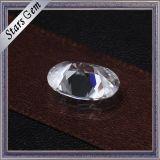 [6إكس8مّ] 1.0 قيراط شكل بيضويّ يقطع دائما باكرة [مويسّنيت] مطلقا حجر كريم لأنّ مجوهرات