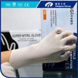 Синь цвета пакета зубоврачебного устранимого порошка перчаток нитрила свободно навальная, свет - голубой, пурпуровая, свет - пурпуровый, зелено, розово, белая, имеющяяся чернота