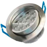 12X1w LED Downlight