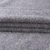 ウールの/Alpacaの深い灰色の冬の間厚い混合されたウールファブリック