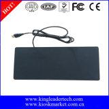 Teclado do silicone do USB com Touchpad e chaves de função