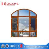 열 틈 알루미늄 표준 강화 유리 여닫이 창 Windows