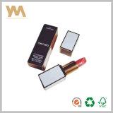 Коробка косметической коробки коробки губной помады белой бумаги цветастая бумажная с печатание полного цвета