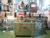 Máquina tampando do frasco para várias indústrias